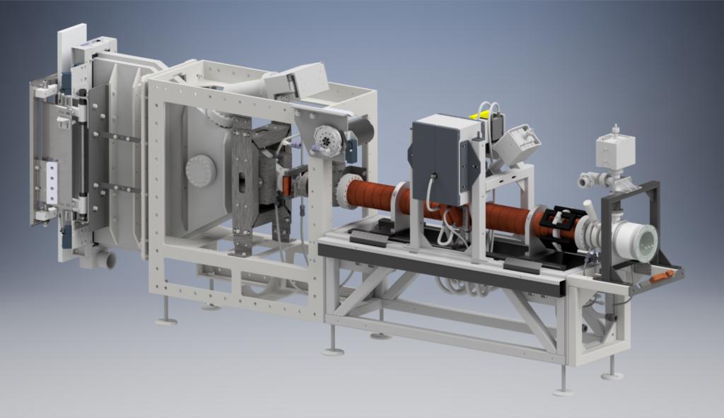 Mevex e-beam linear accelerator Linac