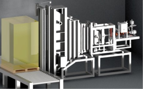 Mevex X-ray linac for food or medical device sterilization